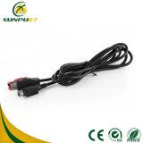 Rundes Schwarzes USB Pin-Daten-Computer-Energien-Drucker-Kabel