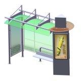 Diseño inteligente de vivienda de Bus de la publicidad de acero inoxidable