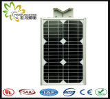 2017 heiße verkaufenb Art 15W alle in einem Solar-LED-Straßenlaternemit Fühler