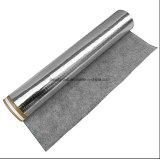 Underlay de borracha acústico adesivo de prata de 2.8mm para a madeira e assoalhos estratificados