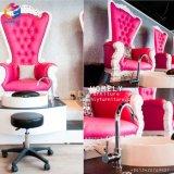 Con respaldo alto trono blanco Pedicura Spa silla sillas Tech Wholesale