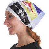 Lenço no pescoço boa flexibilidade multiuso branco véu islâmico (YH-HS308)