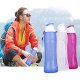 Bottiglia di acqua pieghevole del silicone per lo sport esterno