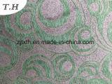 Tessuto della mobilia di Gemotrial del Chenille da colore nero