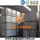 700*1000mm Papelcartão duplex com cinza de volta na folha