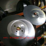 La circular del M2 Dmo5 vio el PVC del corte de la lámina