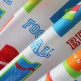 Tenda di acquazzone stampata 100%Polyester della stanza da bagno della Anti-Muffa (18S0068)