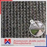 Paño de aluminio de la cortina del ahorro de la energía el 15%~80% franco para el invernadero