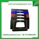 Caja de embalaje impresa rectángulo cosmético de empaquetado de regalo del rectángulo del rectángulo de la crema de papel del conjunto completo