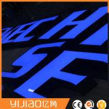 Логос канала украшения стороны акриловый светящий СИД