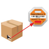 Ярлыки перевозкы груза чувствительной упаковки удара товаров предупреждающий