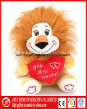 견면 벨벳 아기 놀기를 위한 연약한 사자 장난감