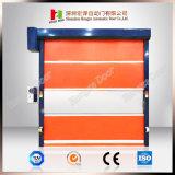Le PVC à grande vitesse rapide de porte intérieure de roulement de garantie s'enroulent (Hz-HS0515)