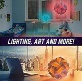 Geosphere 16 인치 - 무선 LED 빛에 완전한 30의 PC 백색 램프 장비