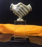Troféu de cristal Award para desportos ou negócios