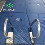 Seguridad Tamaño personalizado el invierno la Piscina Cubierta para piscina sobre el suelo
