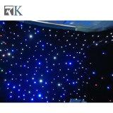 /Partyと結婚するための耐火性の結婚式LEDの星のカーテンLEDの背景幕
