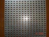 ステンレス鋼のパンチ穴シート