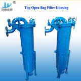 SUS304 de acero inoxidable 316L de agua superior de la caja del filtro en filtro de mangas para el tratamiento de agua pura