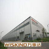 De industriële Hangaar van het Frame van het Staal van de Bouw van de Luchthaven van de Structuur van het Staal van de Hangaar