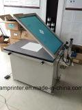 Manuelle GlasFlatbad Bildschirm-Drucken-Maschine mit Vakuumtisch (TM-5065s)