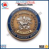Escola personalizado organização de clubes de moedas do logotipo da empresa