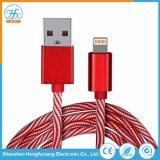 cavo di carico del lampo 5V/2.1A di dati elettrici del USB per il telefono mobile