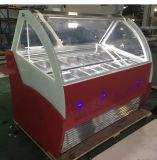 Congélateur continu de luxe commercial Lf-1100gqd de glace de congélateur de crême glacée