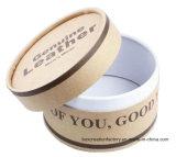 Tubo de papel artesanal envasado, Caja de regalo, sombrero de Tubo Corrugado cuadro deslizante impresas recicladas regalo caja redonda de papel Kraft de tubo de embalaje