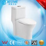 Assento de toalete cerâmico com as macas Bc-2006 do armário de água 3/6
