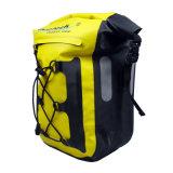 Gelber wasserdichter Fahrrad-Beutel für reisenden Fahrrad-Fahrradpannier-Beutel-FahrradPannier Roswheel