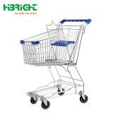 Asiatischer Art-Supermarkt-GroßhandelsEinkaufswagen
