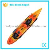 Due sedi che pescano la canoa di plastica del kajak (M05)