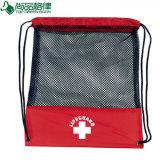 Sport-Gymnastik-Eignungdrawstring-Rucksacktote-Beutel mit Ineinander greifen-Fenster