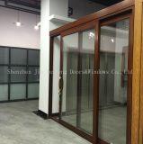 Wook Look Profil en alliage aluminium double portes coulissantes en verre