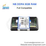 중국 제조자 최고 가격 Ett는 휴대용 퍼스널 컴퓨터를 위한 DDR4 8GB 외부 렘을 잘게 썬다