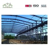 Almacén prefabricado respetuoso del medio ambiente del marco de acero del bajo costo