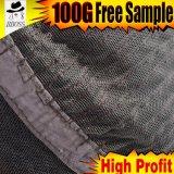 Perruque avant en soie brésilienne de lacet de densité de 180%