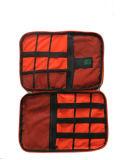Organizador de accesorios electrónicos universal resistente al agua, organizador de viajes Bolsa de cable de camuflaje de ESG10478 Cable de cargador de teléfono