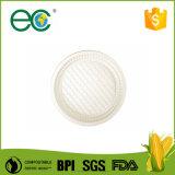 Fête de mariage biodégradable Ware la fécule de maïs organique plaque jetables