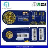 Carte de code barres de carte de fidélité de PVC
