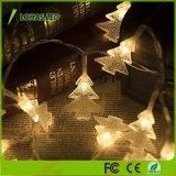クリスマスの屋内屋外の使用USB再充電可能な5m/16.4FT 1.5W 5V 40の球根は白いLEDストリングライトを暖める