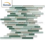 Cheap Stick brillant dosseret de cuisine de brique mosaïque de verre