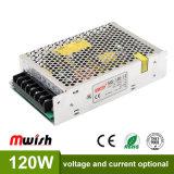 시장성이 높은 가격 소형 알루미늄 120W DC12V 10A LED 전력 공급