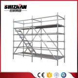 Utiliza la construcción del sistema Ringlock andamios de aluminio para la venta