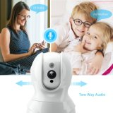 Audio bidirectionnel Night Vision HD sans fil IP Camera de surveillance de sécurité WiFi