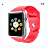 De hete Verkopende Model Slimme Telefoon van het Horloge met de Groef van de Kaart SIM (A1)
