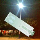 3 ans de garantie avec l'éclairage LED d'intense luminosité du constructeur solaire de réverbère de DEL
