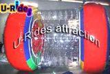 Boule de rouleau gonflable transparente pour piscine