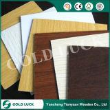 Frente melamina muebles de cartón de densidad media de 1220x2440mm